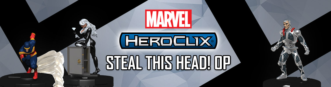 Marvel HeroClix: Steal This Head!