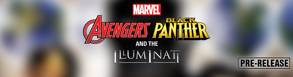 Marvel HeroClix: Avengers Black Panther and the Illuminati Pre-Release