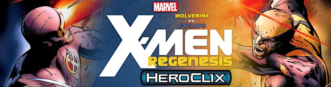 Marvel HeroClix: Wolverine vs. Cyclops: X-Men Regenesis