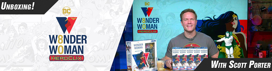 WW80 Scott Porter Unboxing