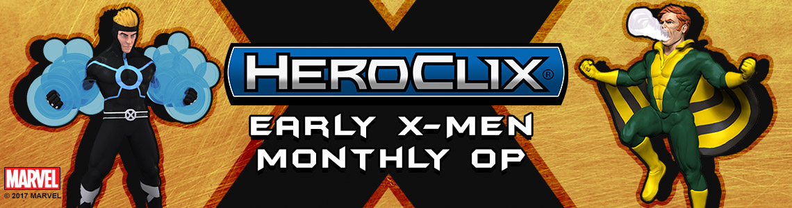 Marvel HeroClix: Early X-Men Monthly