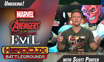 Scott Porter Unboxes BattleGrounds: Avengers vs Masters of Evil