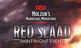 Red Slaad Paint Night Event